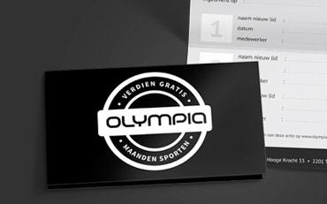 Gratis sporten met de Olympia spaarkaart!